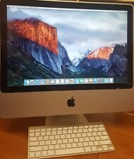 "Apple iMac ""Core 2 Duo"" 2.66Ghz A1224 20"" Desktop PC AIO + Bluetooth Keyboard"