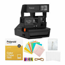 Polaroid 600 One Step Flash Instant Camera with Color Film and Accessory Bundle
