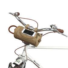 Tourbon Bicycle Handlebar Case Bike Cycling Pannier Bag Canvas w/ Phone Holder