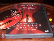 Dracula's Legacy - Il Fascino Del Male Ologramma Tondo Dvd ..... PrimoPrezzo