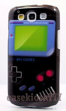 for Samsung galaxy s3 hard case skin Nintendo game boy picture black / S III