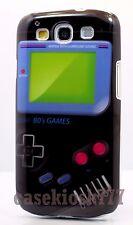 for Samsung galaxy s3 hard case skin Nintendo game boy picture black / S III