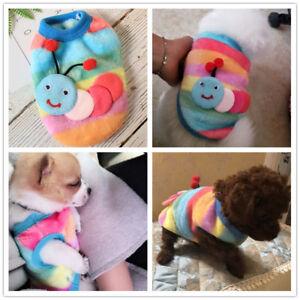 XXXS XXS XS Cute Warm Dog Hoodie Pet Clothes Pajamas for Teacup Chihuahua Yorkie
