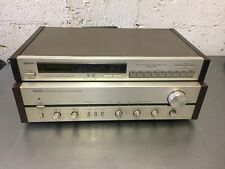 DENON PRA-1000 STEREO PRE AMPLIFIER with TU-747 AM/FM STEREO TUNER