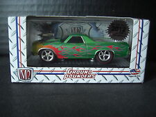 M2 Machines 1970 El Camino Ground Pounders Toy Fair Chase 1 of 492 1/64 Diecast