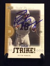 PEYTON MANNING AUTOGRAPHED CARD