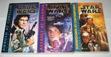 Star Wars lot of 3 science fiction Pbs the complete Corellian trilogy