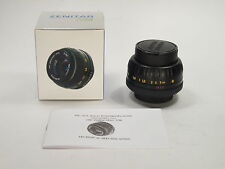 MC Zenitar-M2s f/2 50 mm M42 lens, made in Russia, New Oldstock! NOS