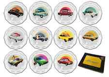 2016 SET 11 50c HOLDEN HERITAGE COINS MONARO TORANA FJ +FREE YELLOW TIN OF CARDS