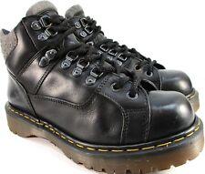 Dr Marten Boots Size 9 Black UniSex Style 8699 Stitching Oil Acid Resistant