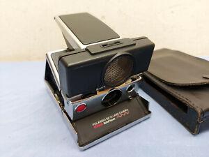 Polaroid SX-70 Land Camera Sonar AutoFocus Sofortbildkameras mit Ledertasche