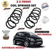 para Opel Corsa D 1.3 1.7 CDTI 2006> NUEVO 2x delante MUELLES HELICOIDALES Set