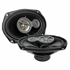 """CERWIN VEGA 700W Max 6"""" x 9"""" XED Series 3-Way Coaxial Car Speakers 