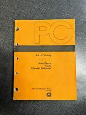 John Deere 450c Parts Manual Catalog Book Crawler Bulldozer Tractor Guide Pc1420