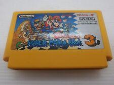 famicom SUPER MARIO BROS 3 Brothers cart only Nintendo Japan