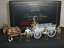 Britains 8920 caballo Dibujado general servicio Wagon WW1 Metal Conjunto figura soldado de juguete