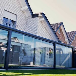 DreamGarden Terrassenüberdachung Aluminium Glas Terrassendach Alu Überdachung