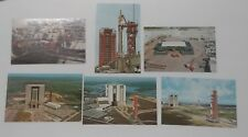 6 Kennedy Space Center Postcards, Not Posted, Excellent Condition, N.A.S.A. Nasa