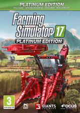 Farming Simulator 2017 Platinum Edition PC IT IMPORT FOCUS