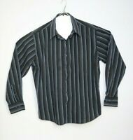 Tarocash Men's Long Sleeve Stripe Shirt Size XL