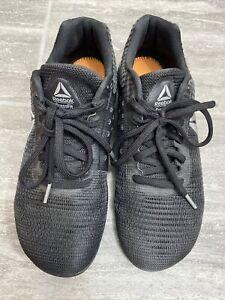 Size UK 7.5 - Reebok CrossFit Nano Black -