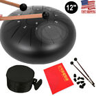 12 inch  Steel Tongue Drum Handpan C Tune11 Notes Hand Tankdrum With Bag Mallets