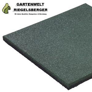 5 Stück Fallschutzmatte GRÜN Fallschutzplatte Bodenschutzmatte 50x50x2,5 cm