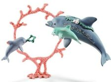 Nuevo Schleich Delfín Mamá con bebés Sea World Fantasy Bayala 41463 nuevo para 2018