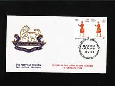 India 3 Unaddressed Covers Dogra Regiment Garhwal Scouts Regiment Artillery 6z