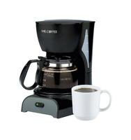 Mr. Coffee  Simple Brew  4 cups Black  Coffee Maker
