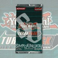 TURBO PACK SEVEN BOOSTER | FACTORY SEALED YuGiOh (1/100 NEW BOX)