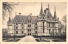 BF6260 chateau d azay le rideau face nord france    France