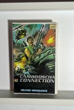 "Heated Vengeance ""Cambodscha Connection"" 1985 Rarität USA Video"