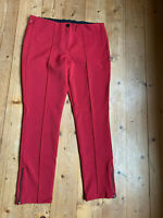 Bleistifthose Slacks von Deyk bordeaux Stretch Polyamid Elastan Jeggins 42 44