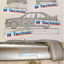 BMW E30 M-Tech Mtechnik M Body Kit Sticker Decal  x8 E24 E28 E34 Original