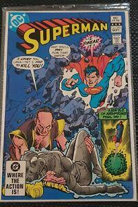 Superman # 375 - Sept 1982. DC Comics. See Photos and Description.