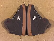DC Rebound WNT Kids Size 1.5 US Youth Brown Gum BMX Skate Shoes Sneakers