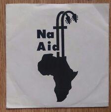 "Newsrevue - Naff Aid / Congratuboomabang - 7"" Single - NEWS 1 - UK 1985"