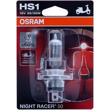 HS1 OSRAM Night Racer +50 - mehr Performance Halogen Scheinwerfer Lampe Moto NEU