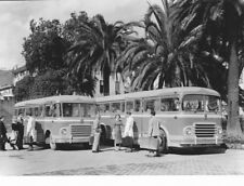 PHOTO PRESS ORIGINALE AUTOBUS CORRIERE DI LINEA FIAT 410 - 1959