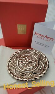 RARE & RETIRED James Avery Cowgirl Belt Buckle Bronze