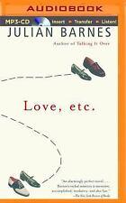 Love, Etc by Julian Barnes (2014, MP3 CD, Unabridged)