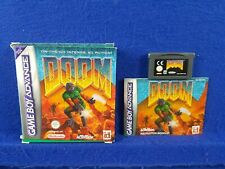 Gameboy Advance DOOM Authentic BOXED GBA Region Free PAL