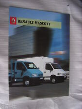 Renault Mascott Prospekt / Brochure / Depliant, GB, 6.2002
