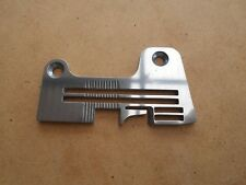 NEW THROAT PLATE TO SUIT INDUSTRIAL BROTHER OVER LOCK MODEL EF4-B511