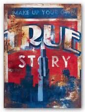 ART PRINT True Story Rodney White 9x12