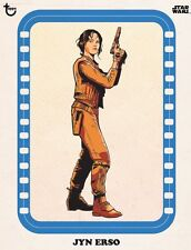 ROGUE ONE CLASSIC ART BLUE JYN ERSO Topps Star Wars Card Trader Digital