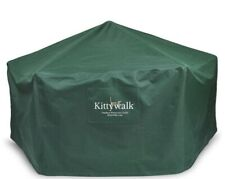 KITTYWALK KWGAZOPC Green OUTDOOR PROTECTIVE COVER FOR GAZEBO Cat House Play Toy