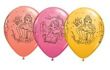 "Disney Belle Beauty & The Beast Assorted 11"" Qualatex Latex Balloons x 5"
