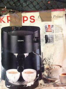 KRUPS ESPRESSO PRIMOESPRESSO AND CAPPUCINO MAKER